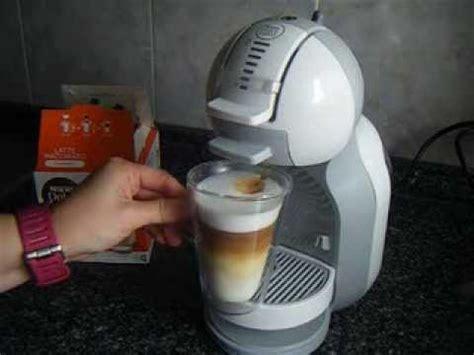 dolce gusto mini me wassertank nescafe dolce gusto latte macchiato hecho con la nueva nescafe dolce gusto mini me