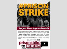 National Prison Strike Awareness March Indybay