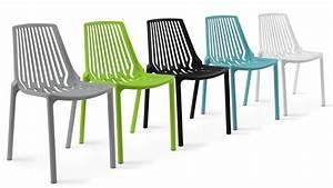 Chaise Salon De Jardin Pas Cher : chaise plastique jardin l 39 univers du jardin ~ Teatrodelosmanantiales.com Idées de Décoration