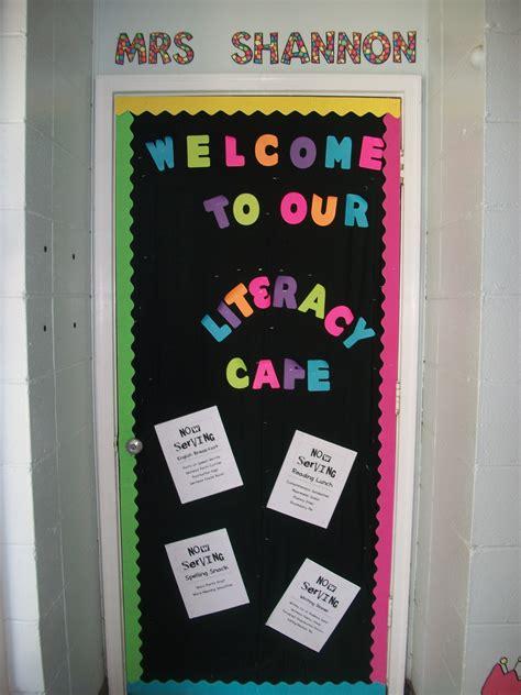 Classroom Door Decoration  I Run Read Teach