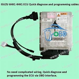 Isuzu 6hk1 4hk1 Ecu Quick Diagnose And Programming Cables