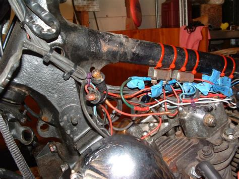 Ironhead Wiring Harnes by 78 Ironhead Electrics Harley Davidson Forums