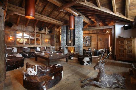 comment faire une cabane dans une chambre décoration intérieur chalet montagne 50 idées inspirantes
