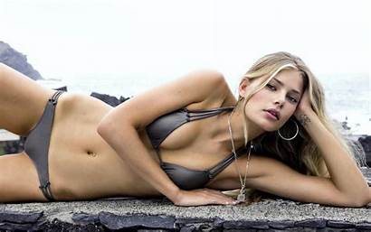 Models Swimsuit Bikini Tori Praver Wallpapers Desktop
