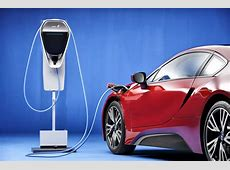 Image 2016 BMW i8 with BMW Home Charger Connect charging