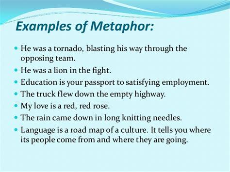 Example Of A Metaphor  Alisen Berde