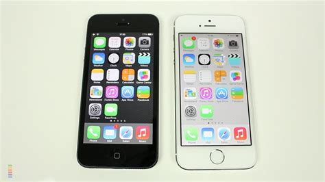 iphone 5 vs 5s iphone 5 vs iphone 5s comparison