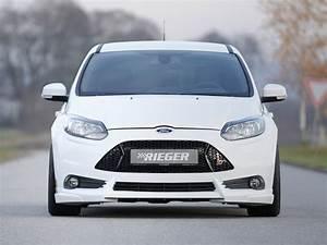 Ford Focus Mk3 Tuning : rieger center splitter for ford focus st mk3 ~ Jslefanu.com Haus und Dekorationen
