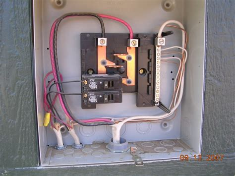 Wiring New Storage Shed Electrical Page