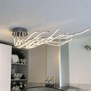 Led Wohnzimmer Deckenleuchte : licht trend sculli led deckenleuchte 2800 lumen 150 ~ Lateststills.com Haus und Dekorationen