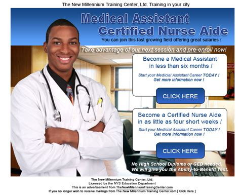 millennium training center medical assistant