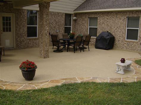 Concrete Patio Ideas by Expert Concrete Patio Houston Contractor Bullion Coatings