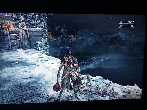 Was thinking about Elden Ring while playing Bloodborne and ...