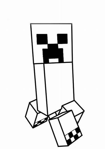 Minecraft Creeper Imprimir Colorir Tudodesenhos Salvo