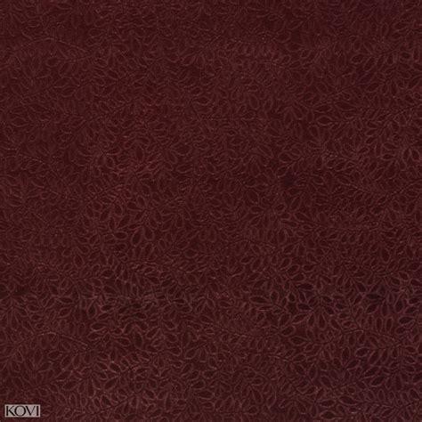 Wine Burgundy Small Vine Leaf Texture Soft Microfiber