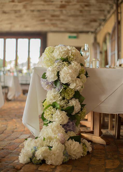 wedding flowers hydrangeas woman  married