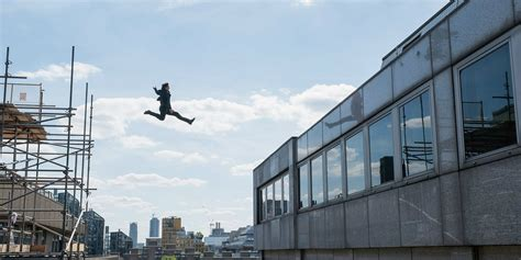 Tom Cruise Flies In The Air In Mission Impossible 6 Image