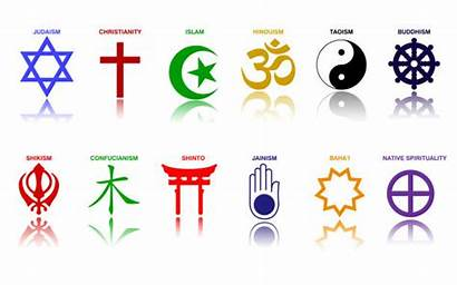 Symbols Religious Clip Religion Major Signs Illustrations
