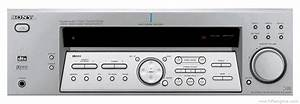 Sony Str-de585 - Manual - Fm Stereo Fm  Am Receiver
