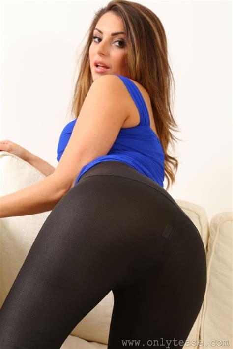 Charlotte Springer In Black Pantyhose