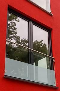 franzosischer balkon aus glas glasprofi24 With französischer balkon mit schieferplatten garten preis
