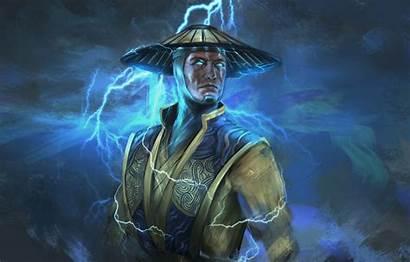 Raiden Mortal Kombat God Lightning Thunder Mk