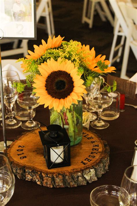 sunflower centerpieces for weddings Bing images