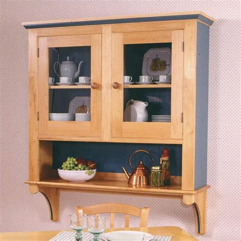country cupboard woodworking plan  wood magazine