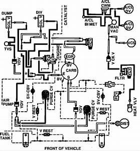 83 Mustang Vacuum Lines