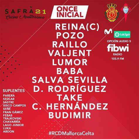 Mallorca 5 vs 1 Celta de Vigo. Todos los detalles del ...