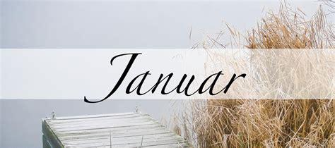 Januar, der Monat des Janus, der in Vergangenheit und ...