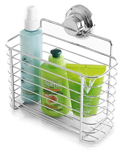 rust resistant shower caddy bino shower caddies smartsuction rust proof stainless