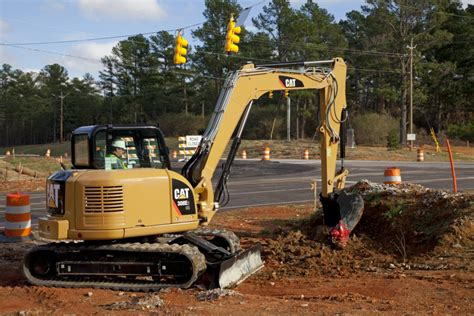 cr mini hydraulic excavator  swing boom equipment id  hawthorne cat