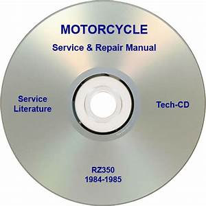 Buy Yamaha Rz350 Service  U0026 Repair Manual 1984