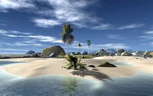 3D Beach Wallpaper | Kodok demo