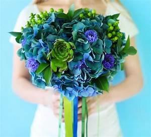 Grün Und Blau : brautstrau hortensie blau gr n brautstrau hortensie hortensie und blau gr n ~ Markanthonyermac.com Haus und Dekorationen