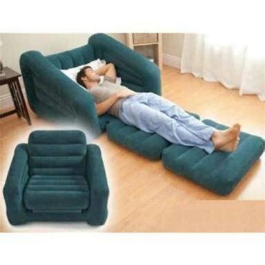 vendo poltrona sofa poltrona inflavel pufe e porta copos intex