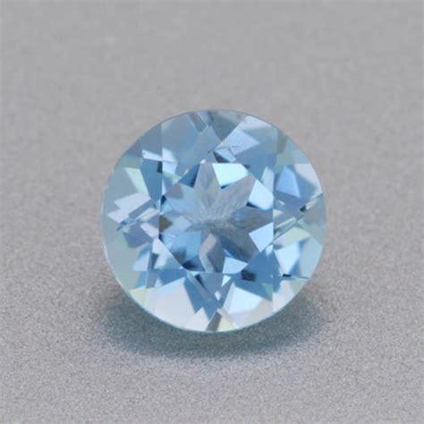 loose  carat natural  aquamarine gemstone mm