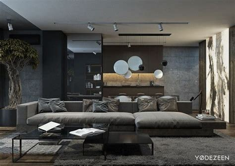 A And Calming Bachelor Pad With Wood And Concrete by Best 25 Comfortable Sofa Ideas On