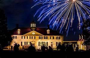 Patriotic Christmas Lights Independence Fireworks George Washington 39 S Mount Vernon