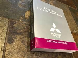 2015 Mitsubishi Lancer  U0026 Sportback Electrical Wiring
