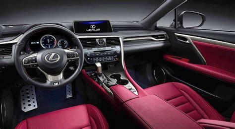 lexus nx   mpg price interior