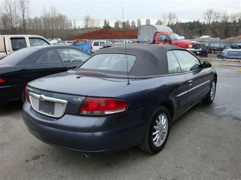 Chrysler Sebring Convertible 2002 mundies wholesale liquidation centre 2002 chrysler