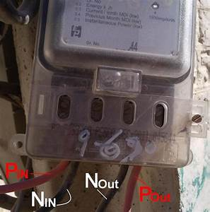 How To Wire A Single Phase Kwh Meter  Installation Of 1