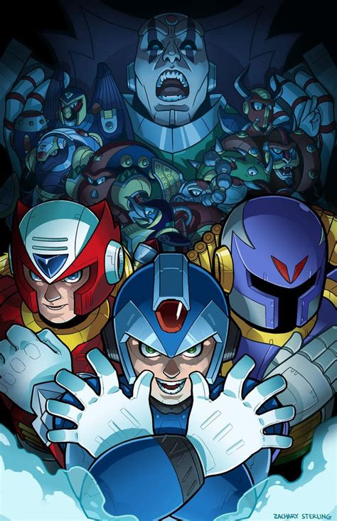 Megaman X Fanart By ~zacharyxbinks On Deviantart Mega