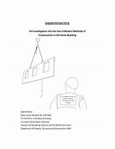 construction dissertation examples