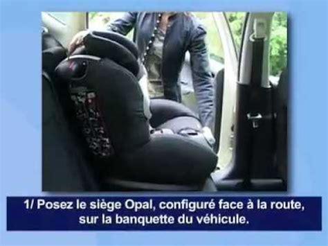 ameliorer confort siege auto bébé confort opal siège auto installation route