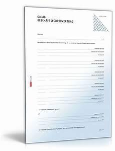 Kredit Für Gmbh Firma : gmbh gesch ftsf hrervertrag muster vorlage zum download ~ Kayakingforconservation.com Haus und Dekorationen