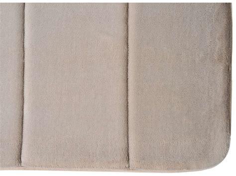 tapis de salle de bain 50x80 cm confort coloris taupe