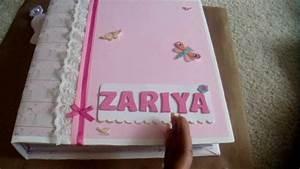 Baby Girl Scrapbook Youtube